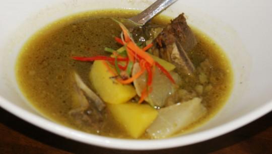 Sup Tulang Bidai Lembu
