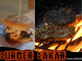 Burger Bakar At KK Burger Bakar