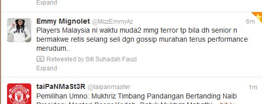 malaysia tweet