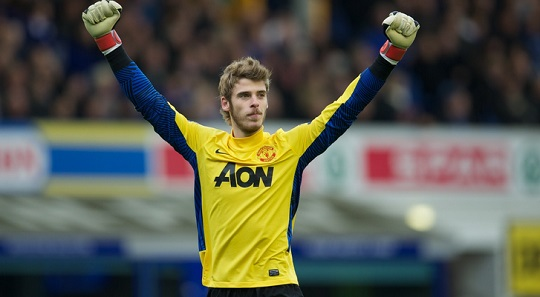 David De Gea Closing On 100 Appearances For Manchester United