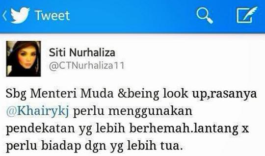 When Siti Tweets Khairy