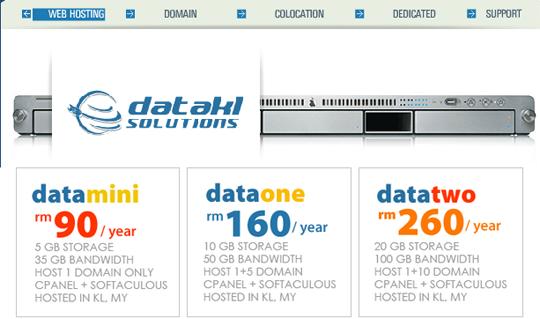 DataKL Web Hosting