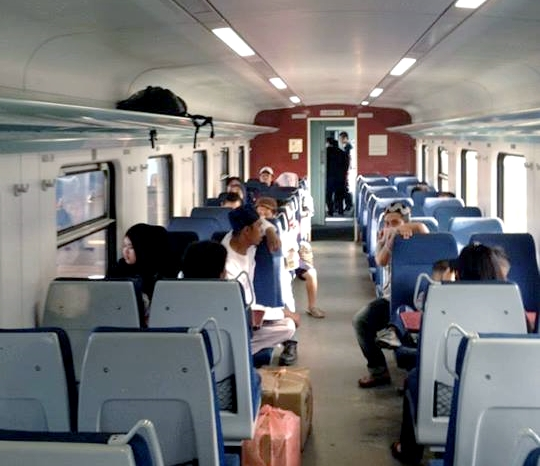 Inside SSR Train
