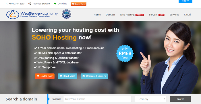 web server malaysia