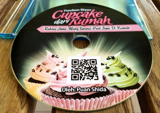 DVD Panduan Bisness Cupcake Dari Rumah