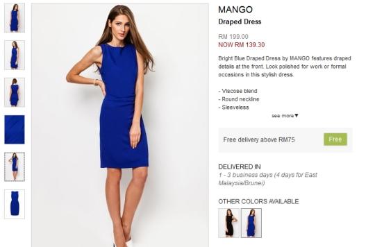 Draped-Dress-by-MANGO