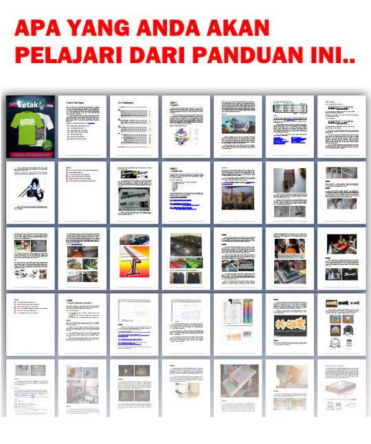 E-book cetak baju