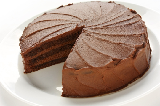 Kek-coklat-mudah