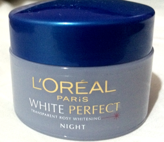 Review : L'Oreal's White Perfect Night Cream