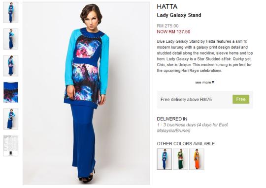 Lady Galaxy Stand by Hatta