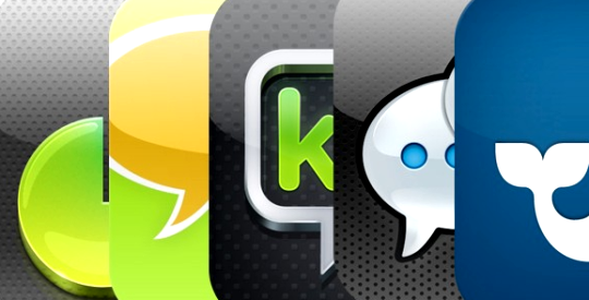 WeChat vs WhatsApp vs Viber vs KakaoTalk