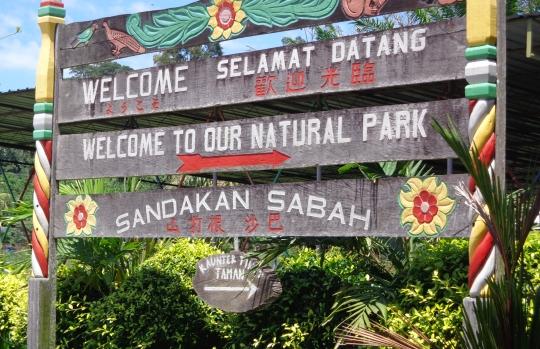 natural park sandakan