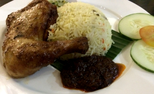 Basmathi Rice With Grilled Chicken