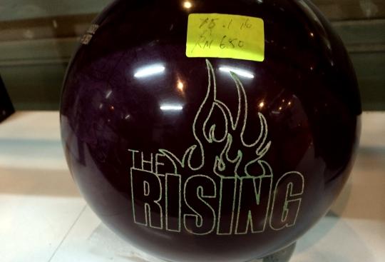 Bowling ball Rising