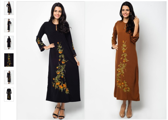 Embroidered-Floral-Jubah