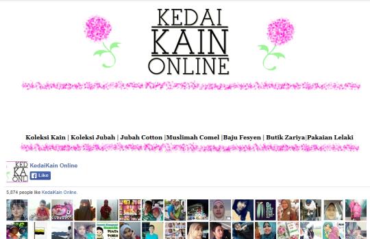 Kedai Kain Online