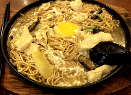Sizzling Yin Min Mee @ Home's Cafe & Restaurant