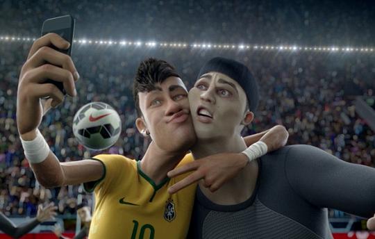 Neymar selfie The Last Game