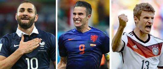 World Cup 2014 Top Scorer