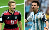 World Cup 2014 Final: Argentina vs Germany