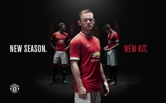 Manchester United 2014-2015 Kit