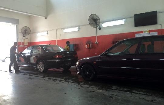 cuci kereta putrajaya