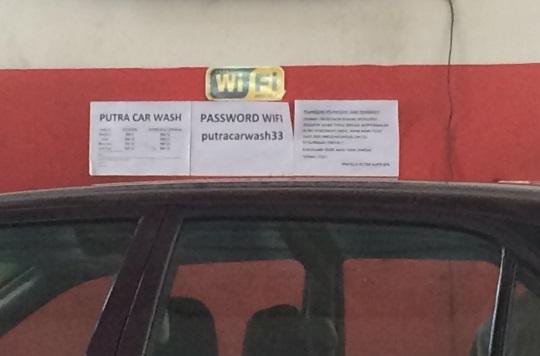 wifi car wash
