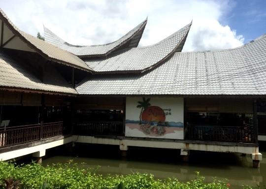 Kg Nelayan Seafood restaurant