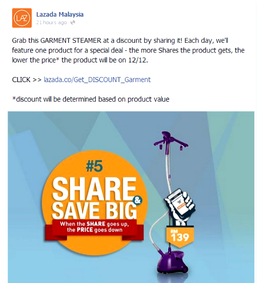 Lazada Malaysia Facebook