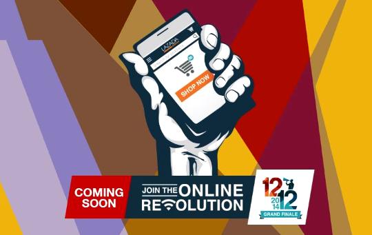 Lazada Online Revolution Sale