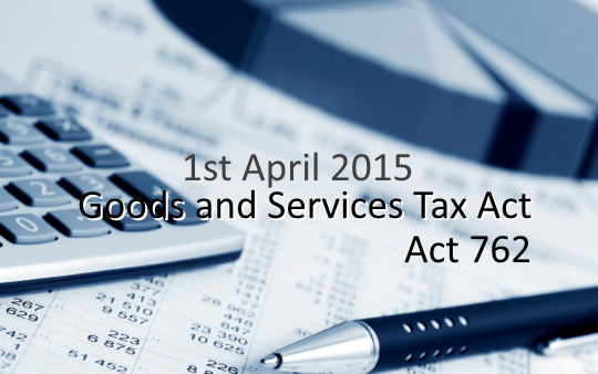 GST Malaysia Act