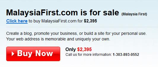 Buy Malaysia First
