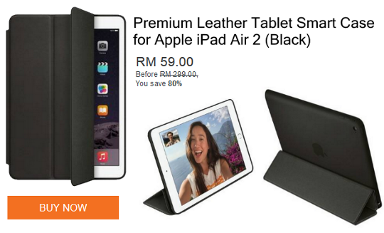 Leather Tablet Smart Case