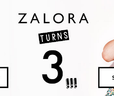 Zalora turns 3