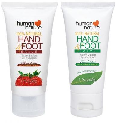 Human Nature 100% Natural Hand & Foot Salve