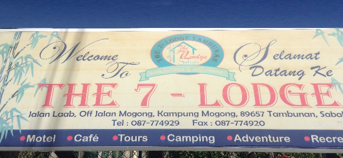7-Lodge Tambunan Sign