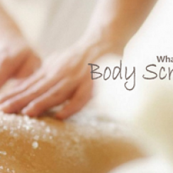 body scrub small