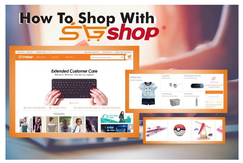 how to shop sgshop
