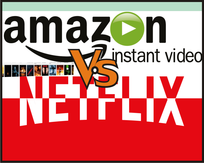 Saya, Netflix dan Amazon Prime Video