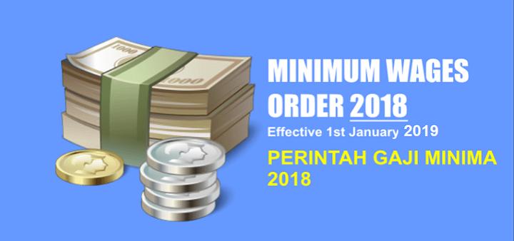 Perintah Gaji Minima 2018