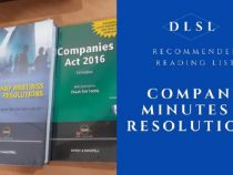 DLSL Recommended Reading List : Company Meetings and Resolutions