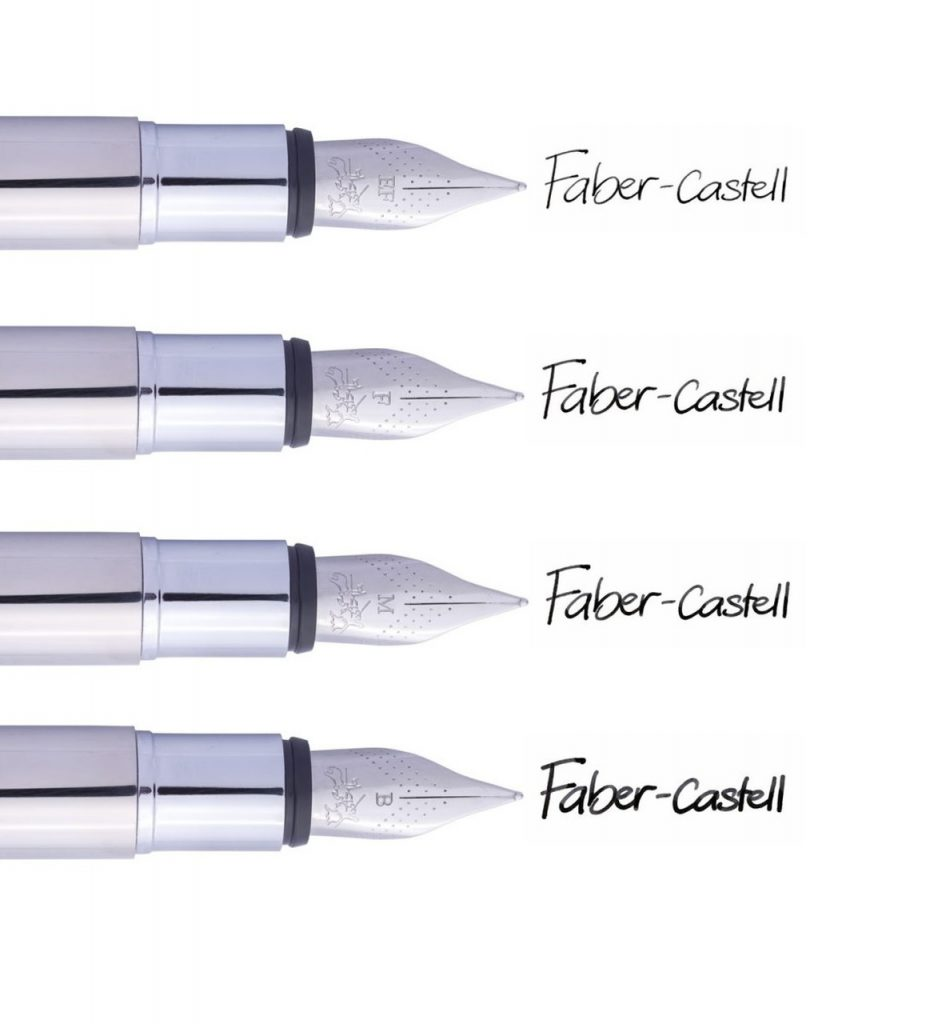 Faber Castell Neo Slim Fountain Pen Nib Sizes