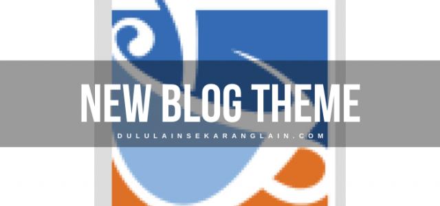 New Blog Theme