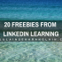 20 Freebies from LinkedIn Learning