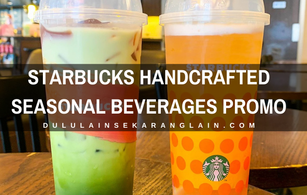 Starbucks Handcrafted Seasonal Beverages Promo