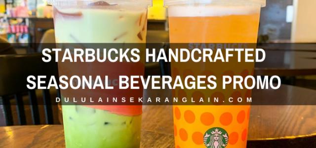 Starbucks Handcrafted Seasonal Beverages Promo