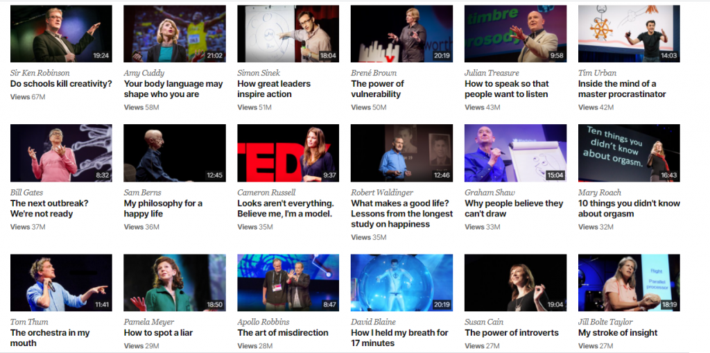 Lifelong Learning with TED Talks